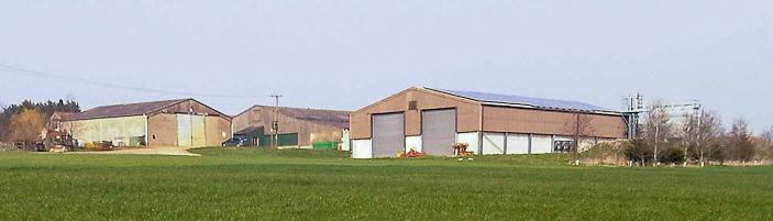 Home Farm PV panel array